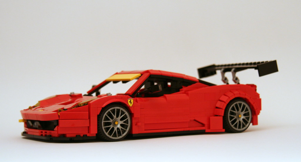 ... Ferrari 458 GT3 2013 Spec TEST CAR (3) | By LegoExotics