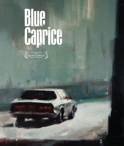 Blue Caprice Graphic Poster.