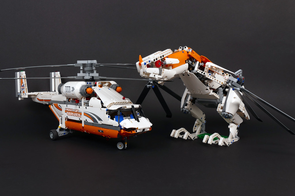 """... Wyvern - LEGO Technic 42052 Alternate MOC   by """"grohl"""""""