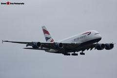 G-XLEJ - 192 - British Airways - Airbus A380-841 - Heathrow - 161127 - Steven Gray - IMG_6477