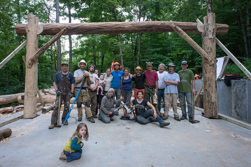 Going Slowly Grindbygg Timberframing Class 2013 Group Photo | by goingslowly