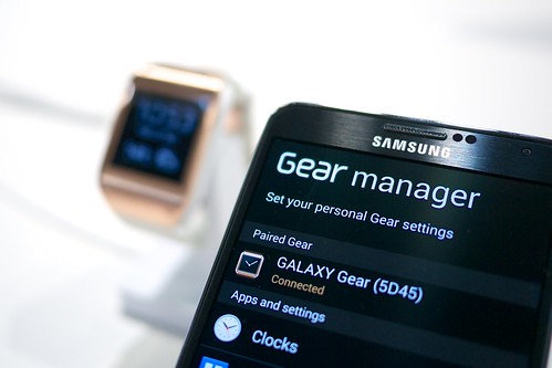 Samsung Galaxy Gear smartwatch | by Janitors