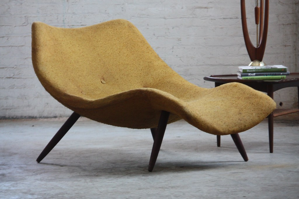 chaise longue lounge mid page century scandinavian file modern product
