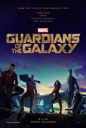 Image result for guardians of the galaxy 1 poster