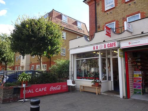 RU@D Cafe, West Ham, London E15