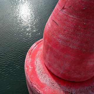 red buoy, sunlight | by jspad