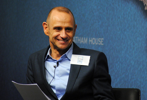 Evan Davis, Presenter, BBC | by Chatham House, London