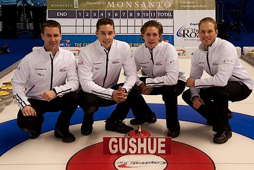 Team Gushue — Bally Haly Country Club, St. John's, N.L.Brad Gushue, Brett Gallant, Adam Casey, Geoff Walker, Peter Gallant (coach) | by seasonofchampions