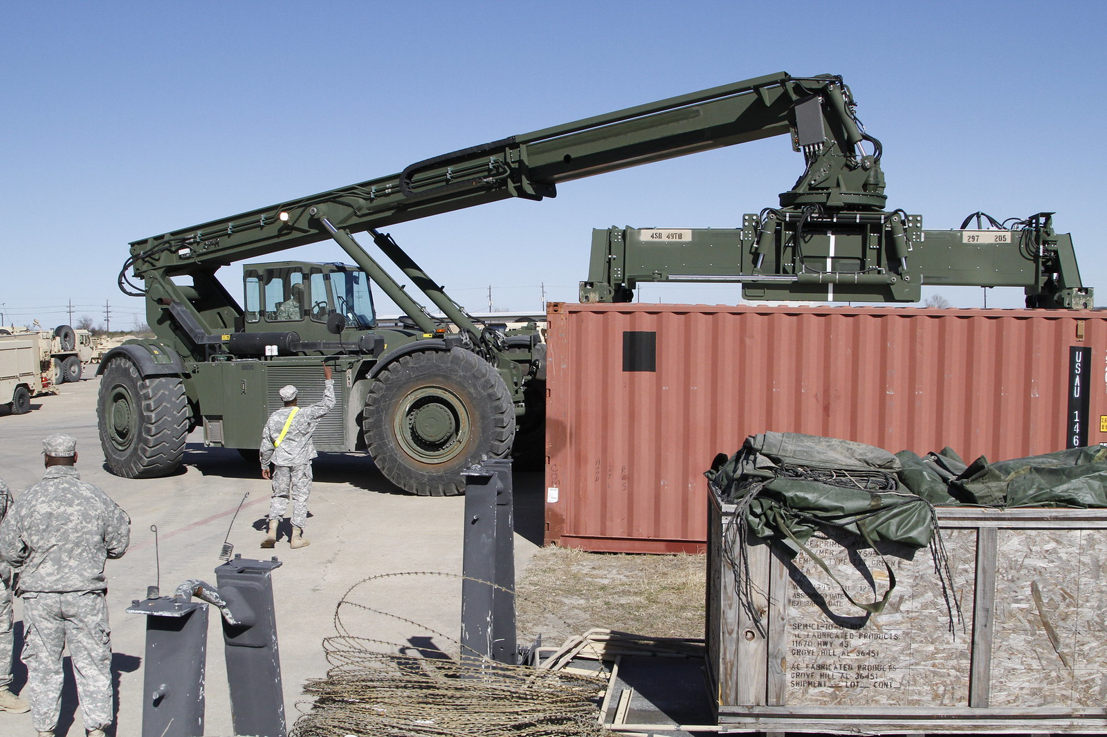 Ironhorse Loads up for NTC | by 1st BCT, 1st CD