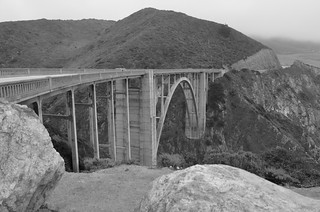 Bixby Bridge, B&W | by martha_jean