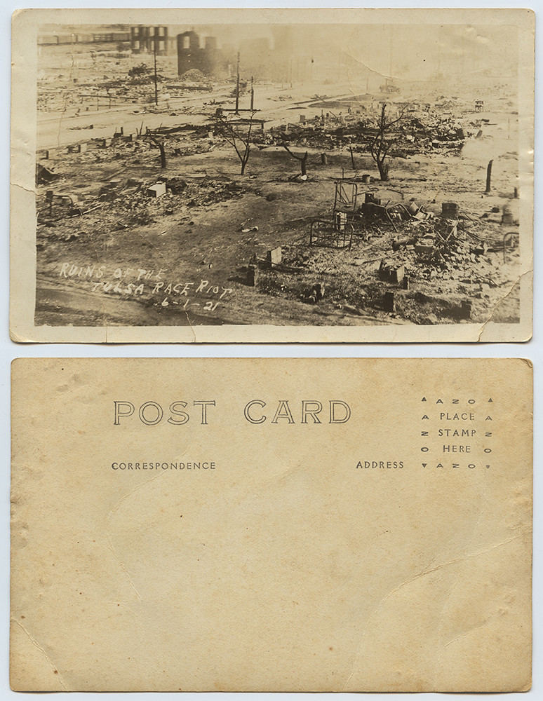 Ruins of the Tulsa Race Riot, 6-1-21 | by SMU Libraries Digital Collections