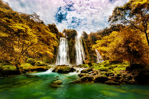 Cikaso Waterfalls | by alex hanoko