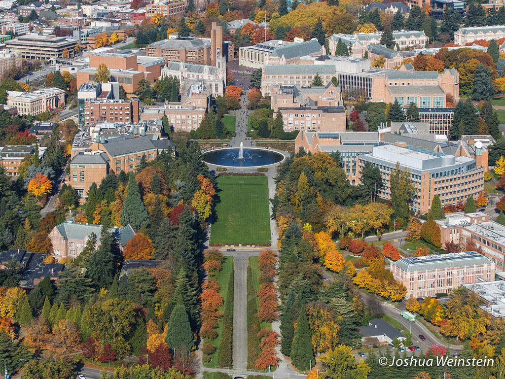 university of washington campus in the fall joshua weinstein flickr