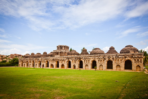 Elephant Stables, Hampi | by 'SandFlash
