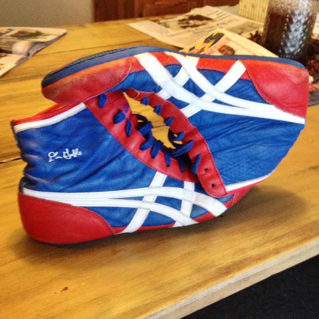 asics ultraflex wrestling shoes junior