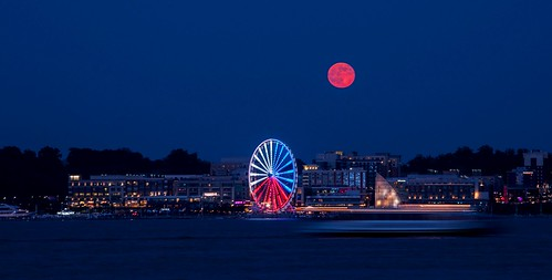 Full Moon at the National Harbor | by cynthia james photography