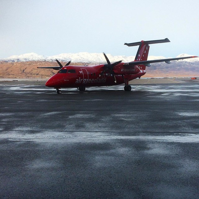 Our next ride, Narsarsuaq to Nuuk