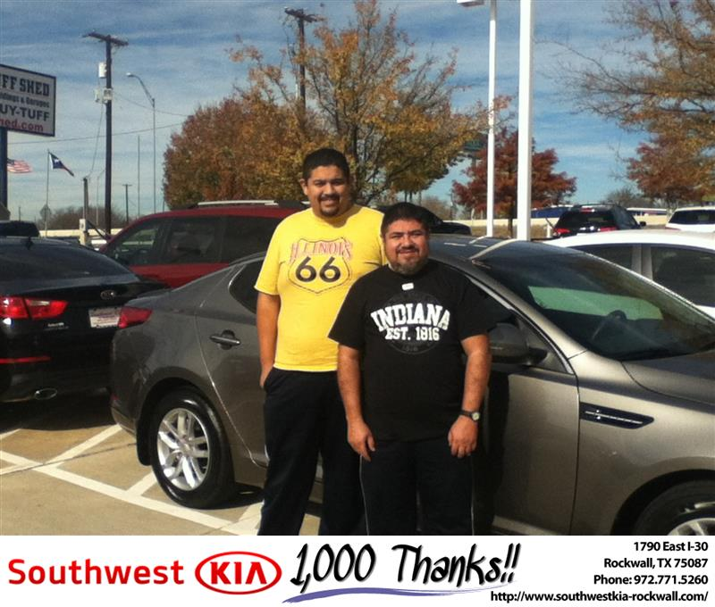Southwest Kia Rockwall >> Happybirthday To Juan From Gary Guyette At Southwest Kia