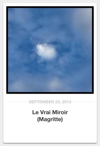 Le vrai miroir magritte the true mirror john gooden for Magritte le faux miroir