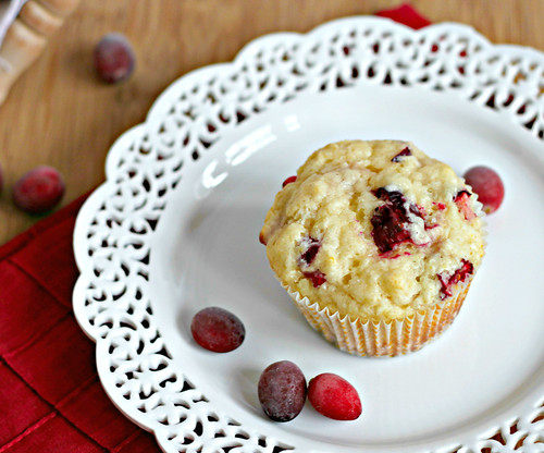 Cranberry Buttermilk Muffins | by Southern Pink Lemonade