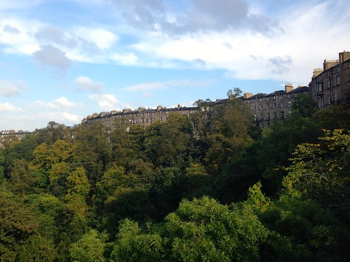 Back view of Edinburgh Tenements | by knitahedron