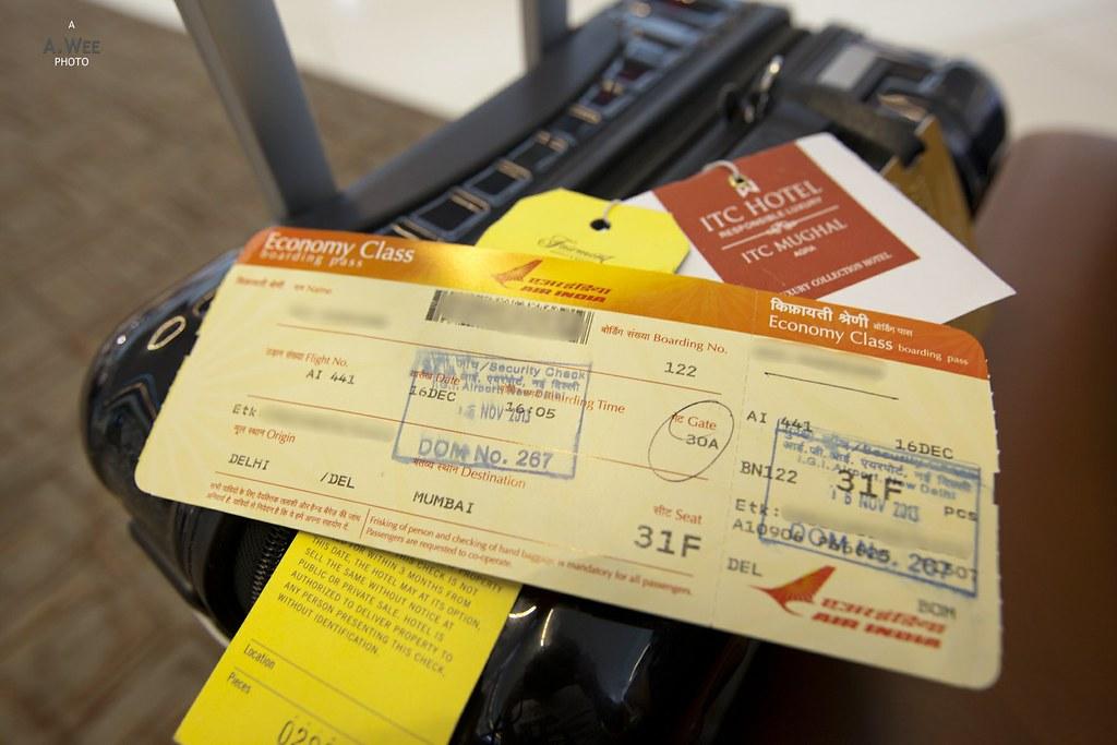 Air India Boarding Pass Ai441 Del Ixu Bom A Wee Flickr