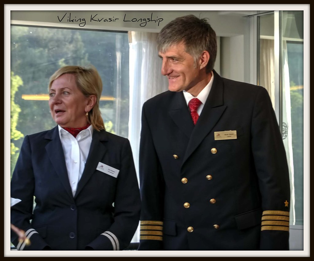 Ewa and Istvan Fekete, Head Housekeeper and Captain, Vikin…   Flickr