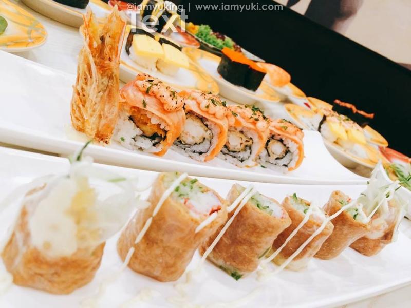 sushi mentai Singapore24yuki ng food review