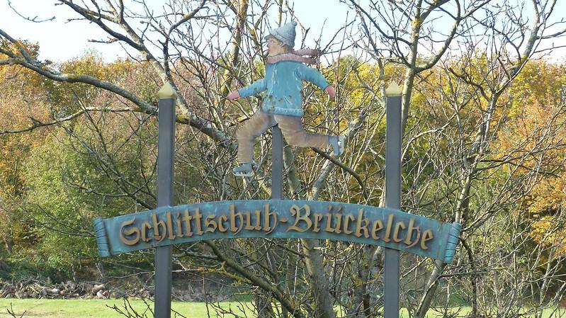 Schlittschuh-Brückelche bei Nieder-Olm