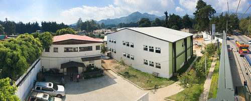 panorama of the new center