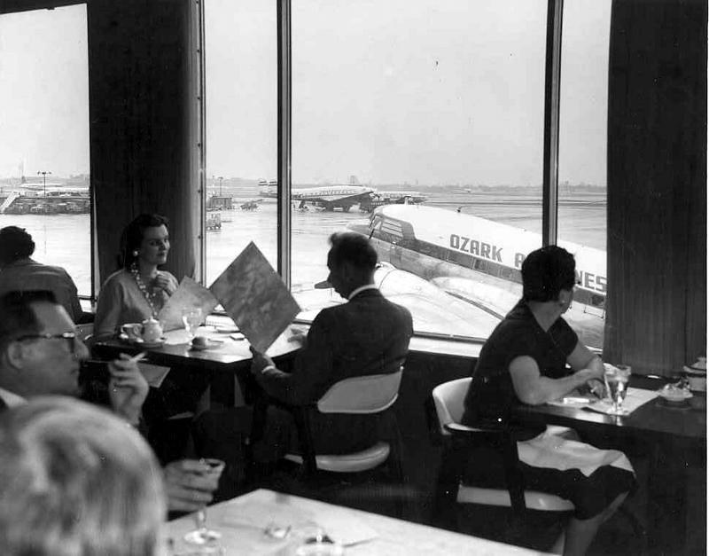 Chicago Midway Airport Cloud Room Restaurant C1956 Di Flickr