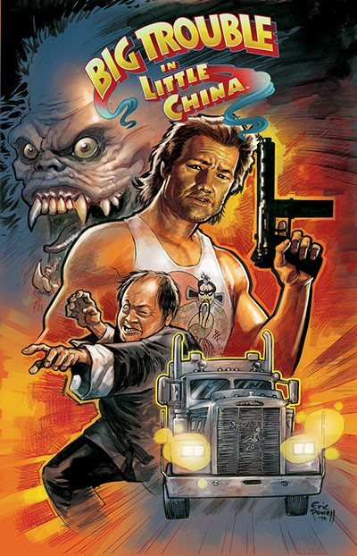 Big Trouble in Little China - Comics - 1