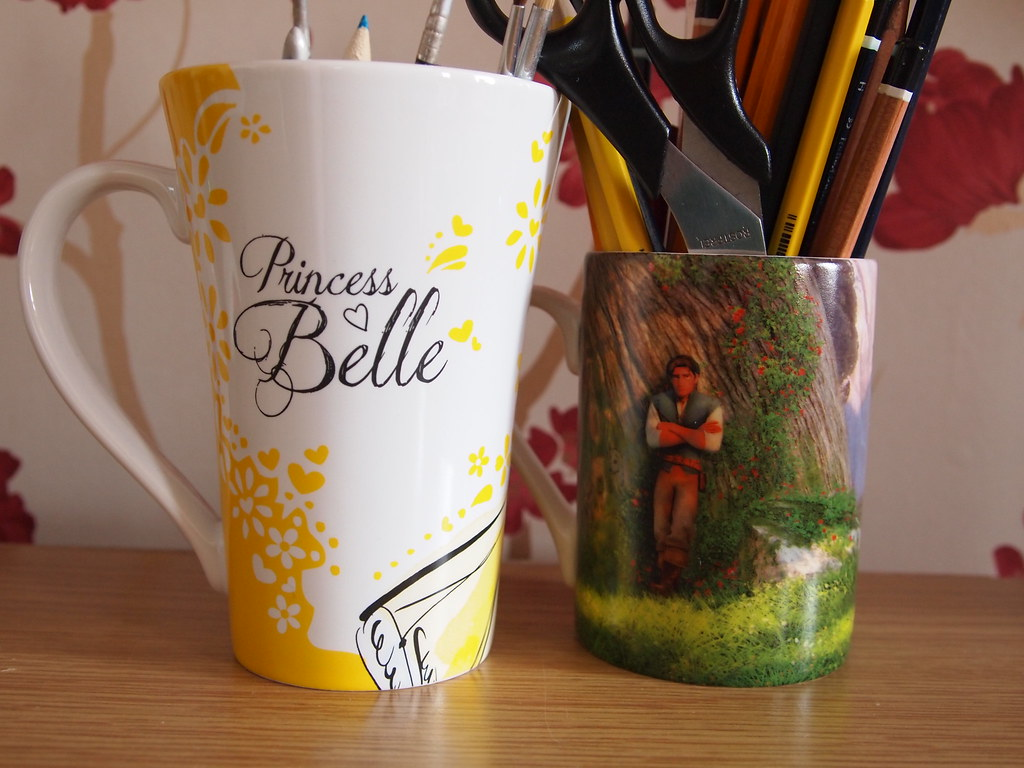 princess belle and tangled classic 2013 mug back flickr
