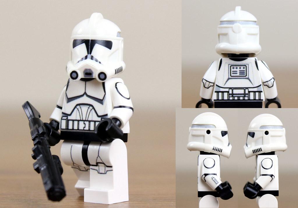 ... Custom LEGO Plain Clone Trooper (Clone Wars Phase 2) | by JPO97Studios