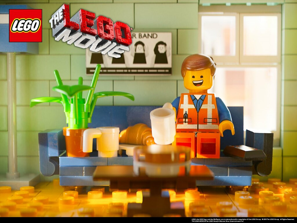 The Lego Movie Emmets Couch 1600x1200 Wallpaper Flickr