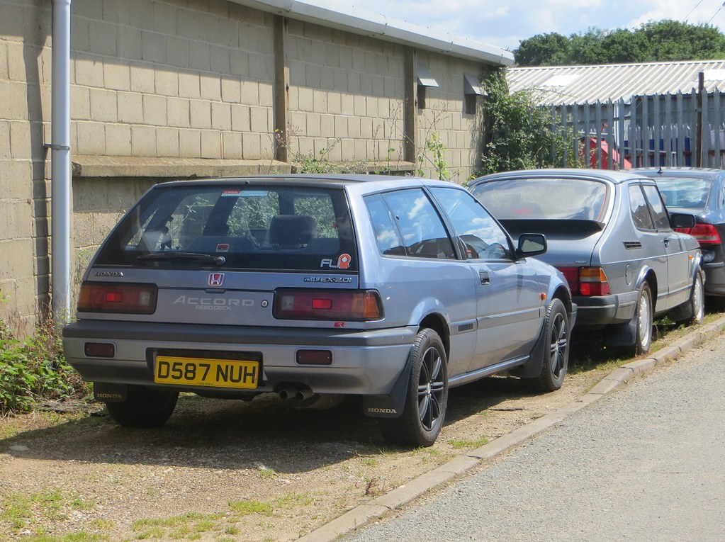 1987 Honda Accord Aerodeck Ex 20i Good To See This One B Flickr