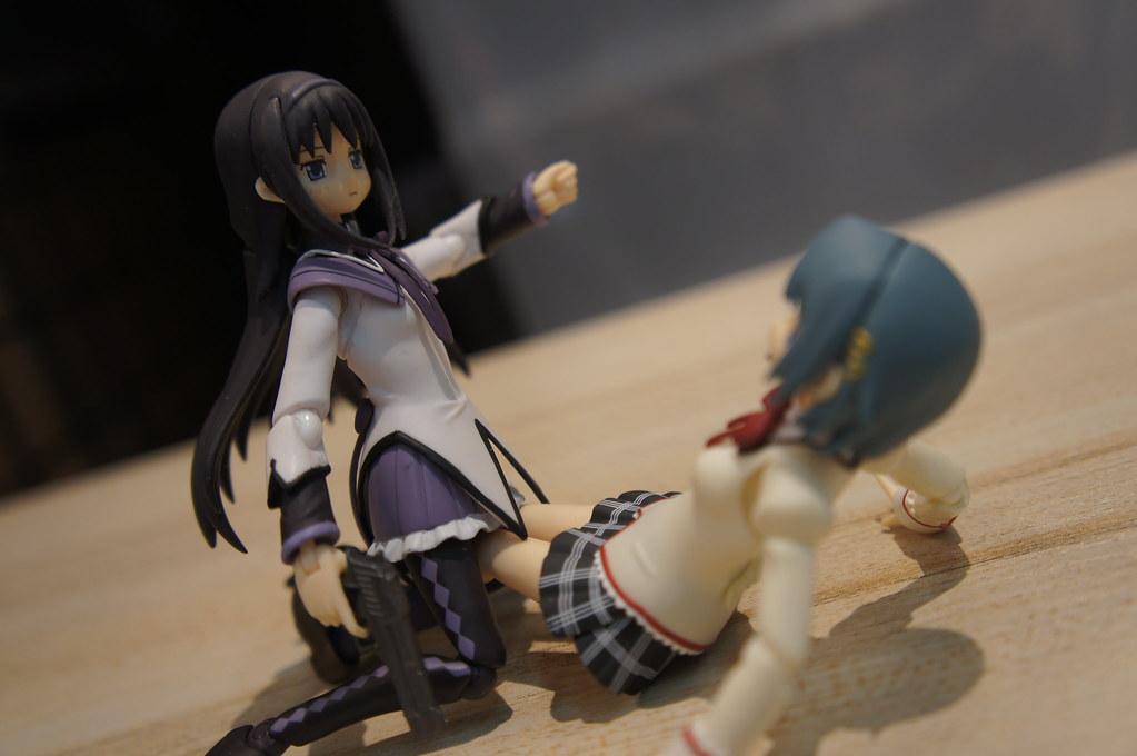 Figma Akemi Homura (Madoka Magica) | Being the mysterious Da… | Flickr