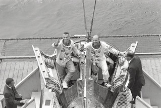 Gemini Crew Welcomed by Wasp Crew | by NASA on The Commons