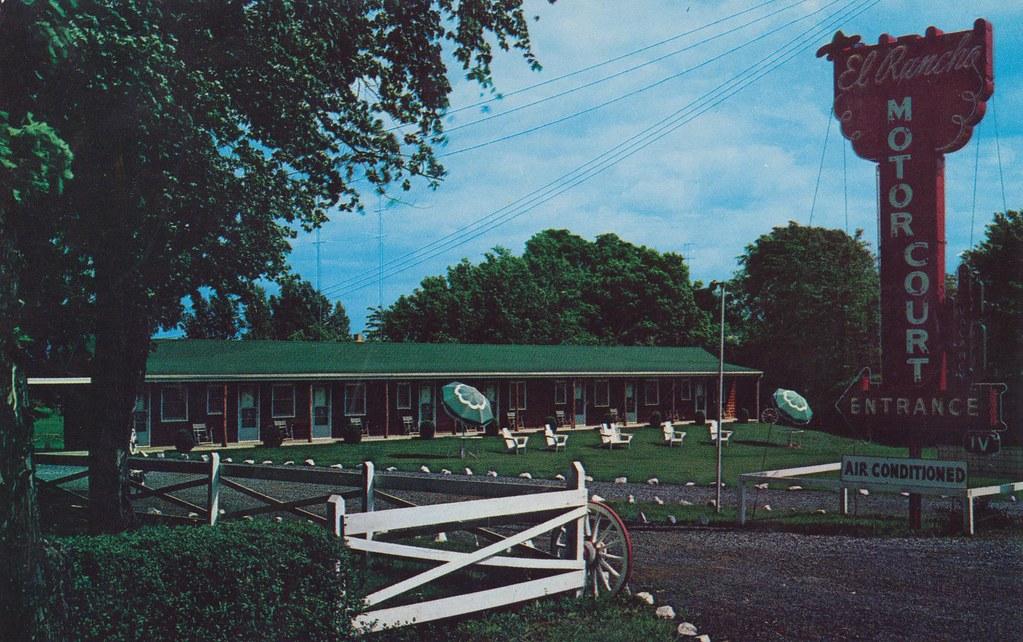El Rancho Motor Court - Winchester, Virginia
