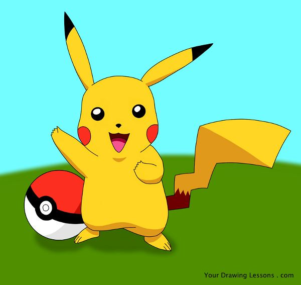 Pikachu drawing a drawing of pikachu from the nintendo gam flickr pikachu drawing by matt leyva pikachu drawing by matt leyva thecheapjerseys Image collections