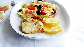 A healthy plate: Grilled Catfish with Sauteed Cabbage | by diversekitchen
