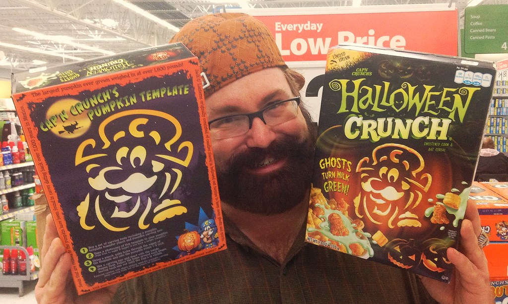 halloween crunch captain crunch special edition halloween 2013 with mike mozart by jeepersmedia - Captain Crunch Halloween