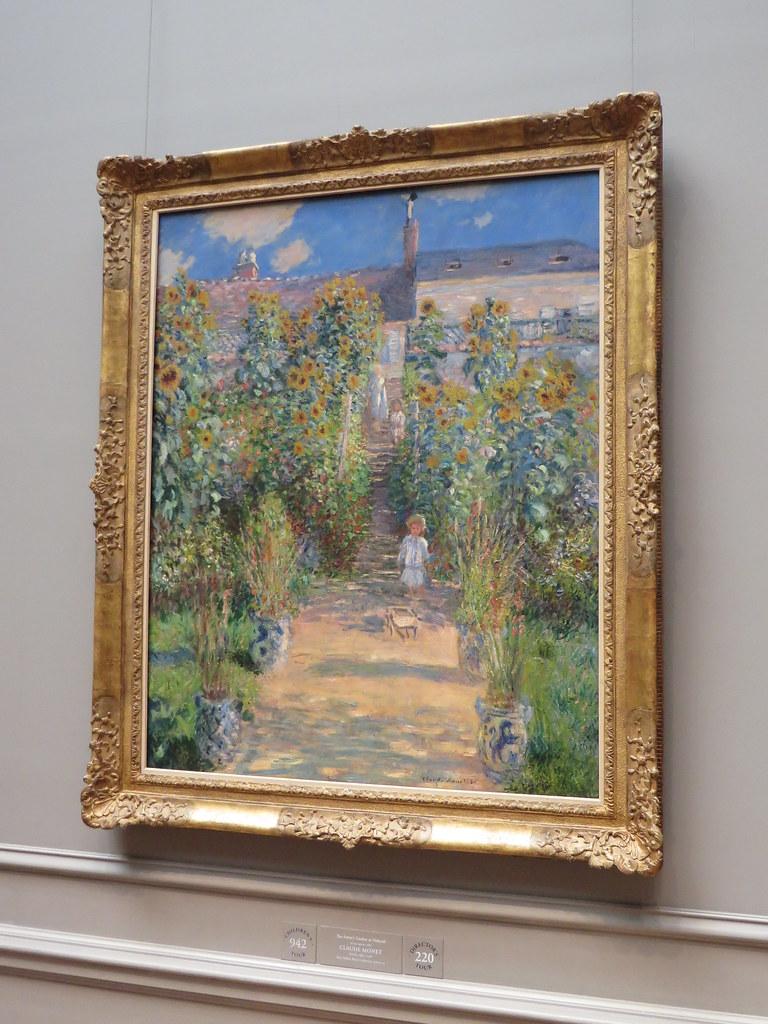 ... The Artistu0027s Garden At Vétheuil, 1880, Claude Monet, National Gallery  Of Art,