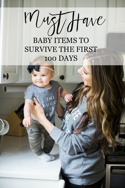 The ultimate list of baby-must haves. A fantastic roundup of baby essentials so you know what to buy for baby!