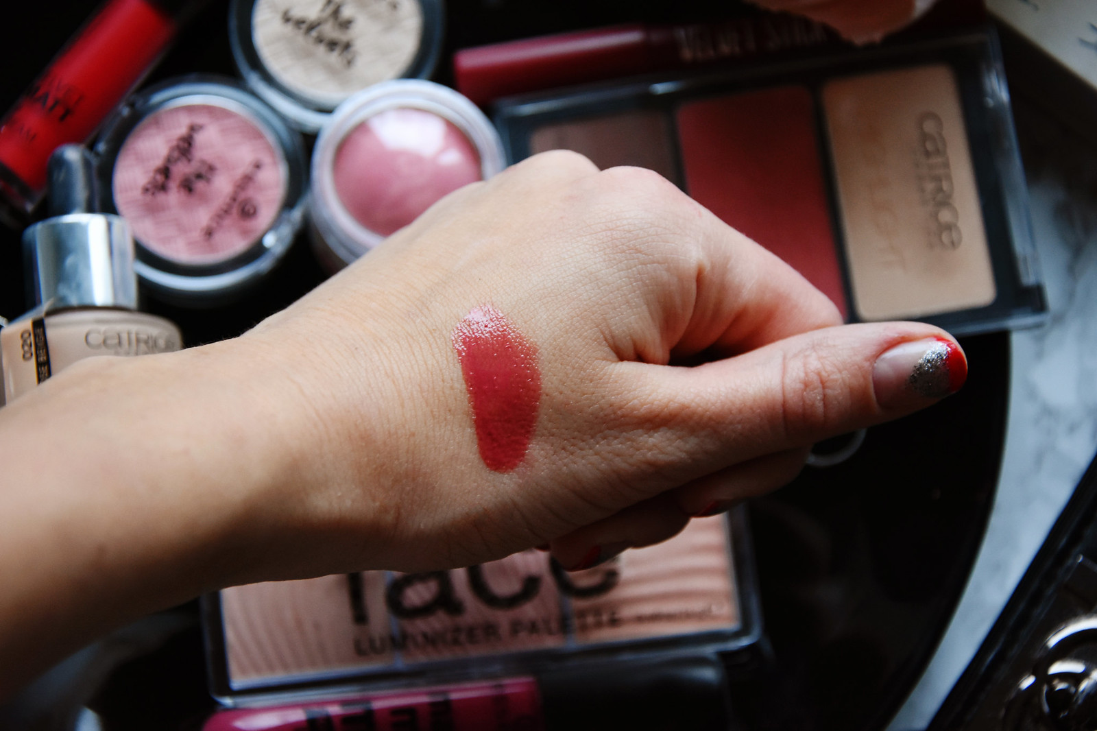 Catrice Shine appeal fluid lipstick review