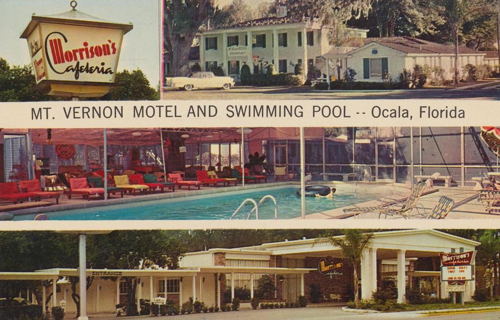 Mt. Vernon Motel & Morrison's Cafeteria - Ocala, Florida