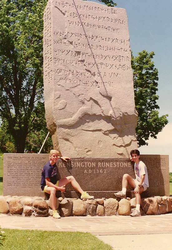 Kensington Runestone, Alexandria, MN
