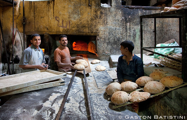 "The Bakery. ""Al Azhar"" ""Bab Zweila"" Cairo, Egypt"