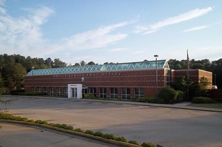 Conyers, GA post office | by PMCC Post Office Photos