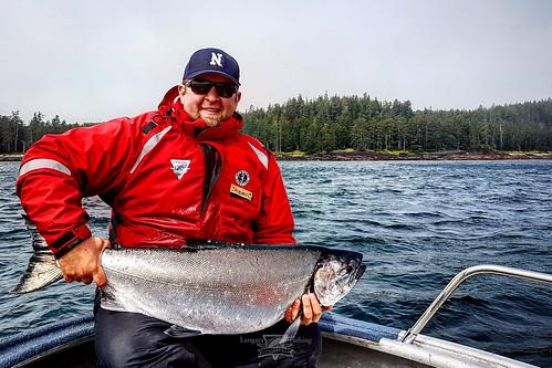 Salmon fishing at langara fishing lodge haida gwaii flickr for Langara fishing lodge